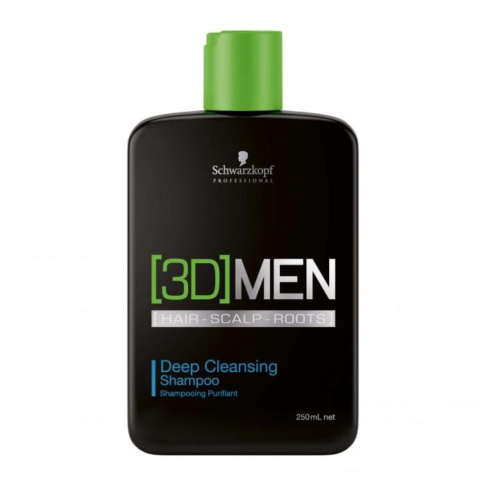 Schwarzkopf [3D]MEN Deep Cleansing Shampoo