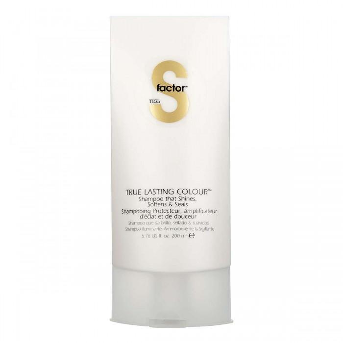 TIGI S-FACTOR True Lasting Color Shampoo 200 ml