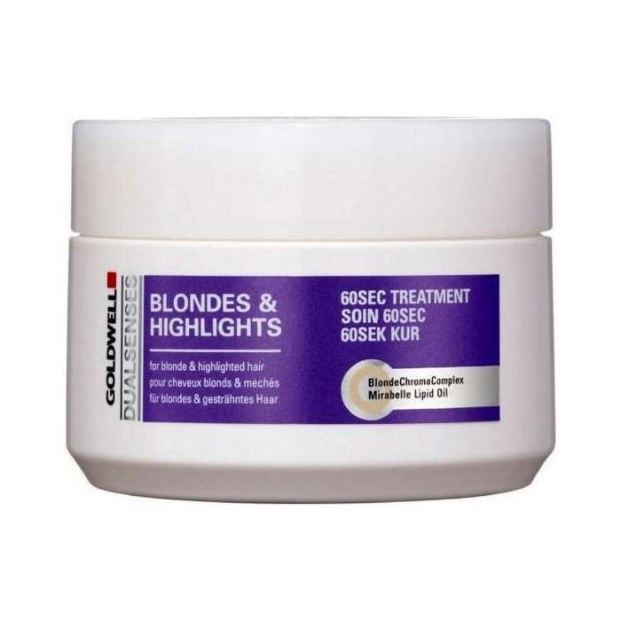 GOLDWELL Dualsenses Blondes & Hightlights 60sec Treatment 200 ml