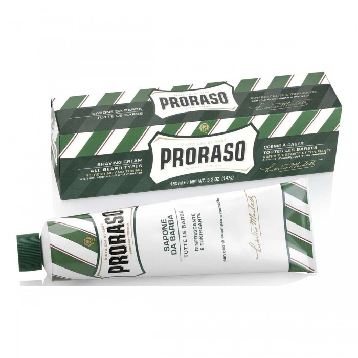 PRORASO Schaving Cream Green Tube 150 ml