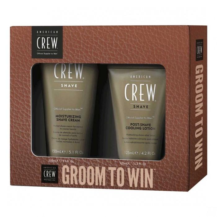 American Crew Groom To Win Schaving Cream Pack