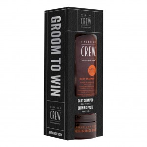 American Crew Daily Shampoo & Defining Paste Set