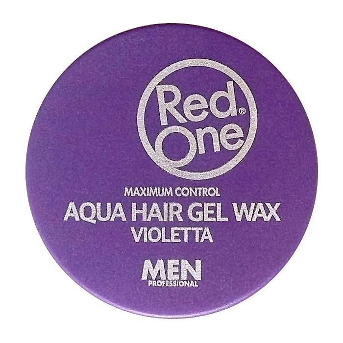 Red One Aqua Hair Gel Wax Violetta 150 ml