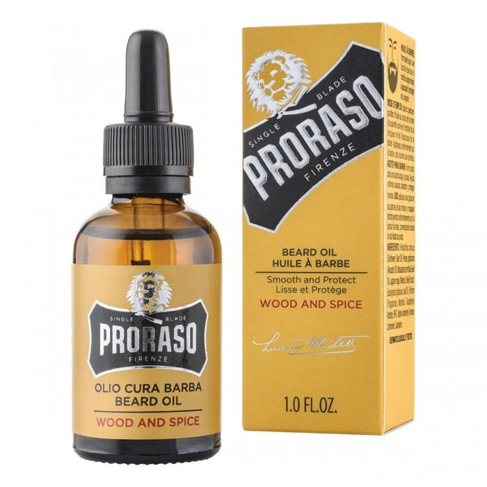 Proraso Beard Oil Wood and Spice 30 ml