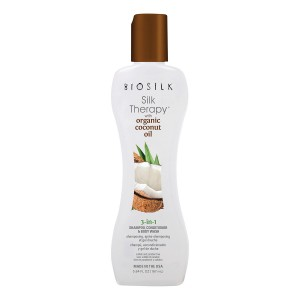 BioSilk Silk Therapy with Organic Coconut Oil 3-in-1