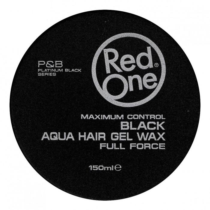Red One Aqua Hair Gel Wax Quicksilver 150 ml