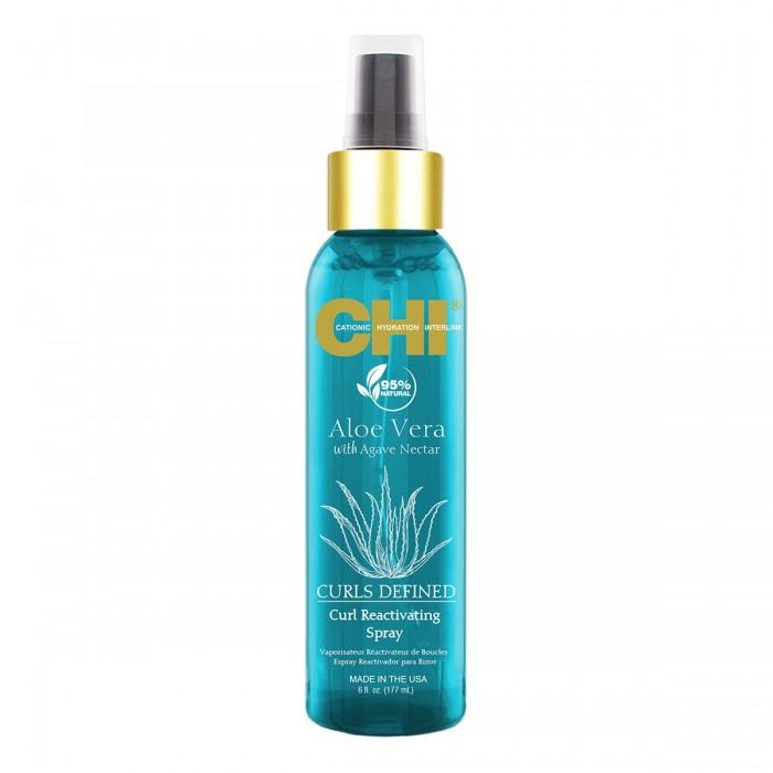 CHI Aloe Vera Curl Defined Curl Reactivating Spray 177 mL